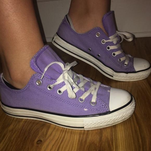 9d1f71472dc4 Converse Shoes - Lavender converse Chuck Taylor s